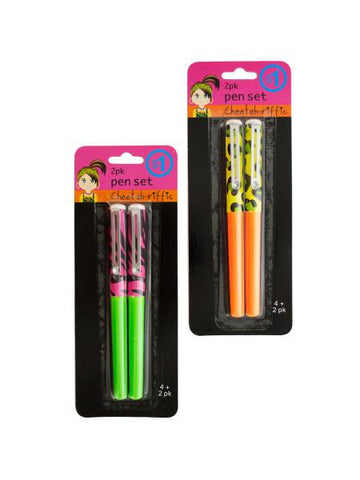 Animal Print Pen Set (Available in a pack of 25)