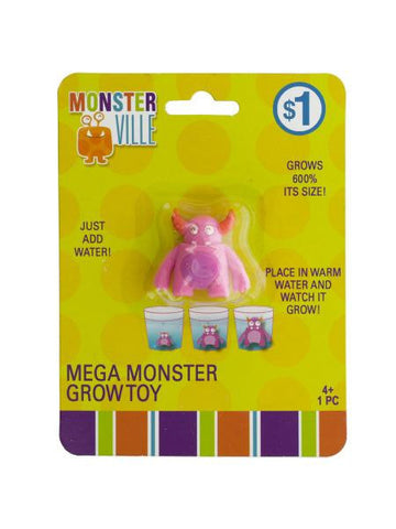 Monsterville Mega Monster Grow Toy (Available in a pack of 20)