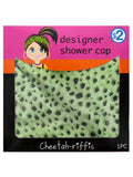 Cheetah Print Designer Shower Cap (Available in a pack of 20)