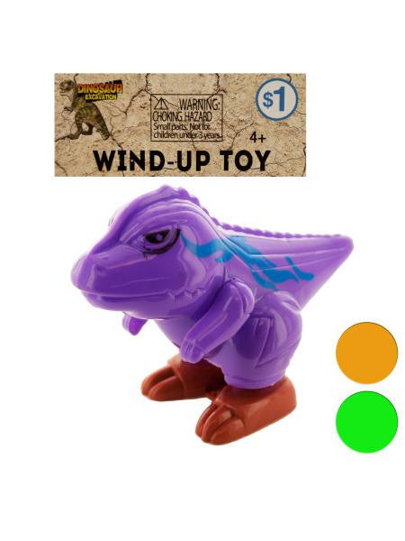 Wind-Up Dinosaur Toy (Available in a pack of 24)