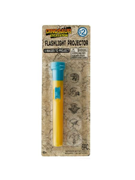 Dinosaur Flashlight Projector (Available in a pack of 24)