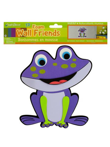Frog Foam Wall Friend (Available in a pack of 24)