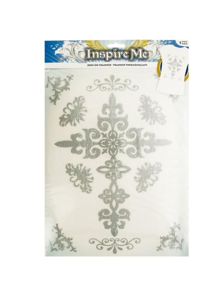 Iron-On Decorative Cross Transfers (Available in a pack of 30)