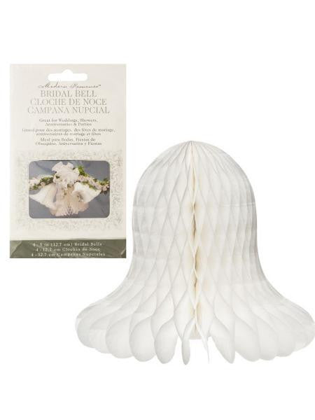Honeycomb Bridal Bells (Available in a pack of 24)