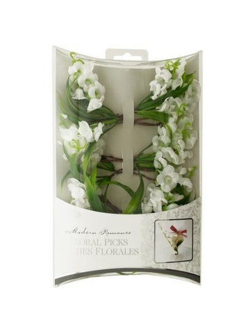 Lily of the Valley Floral Picks (Available in a pack of 24)