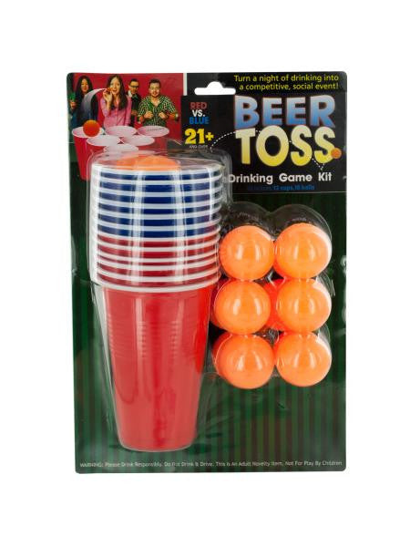 Beer Toss Drinking Game Kit (Available in a pack of 4)