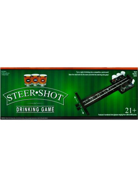 Steer Shot Drinking Game (Available in a pack of 1)