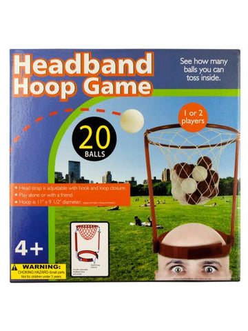 Headband Hoop Game (Available in a pack of 6)