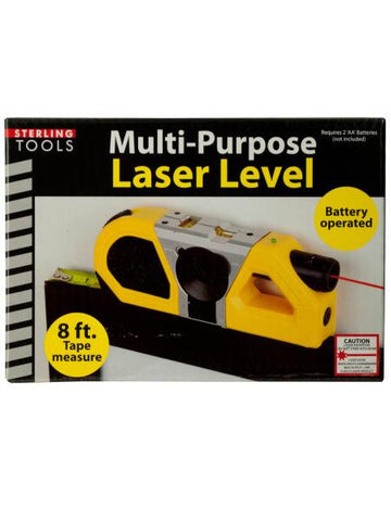 Multi-Purpose Laser Level with Suction Mount (Available in a pack of 1)
