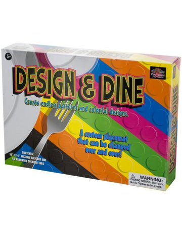 Design & Dine Silicone Placemat (Available in a pack of 12)