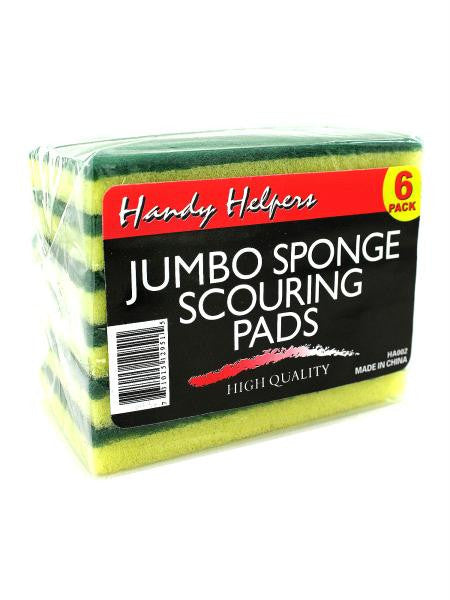 Jumbo Sponge Scouring Pads (Available in a pack of 30)