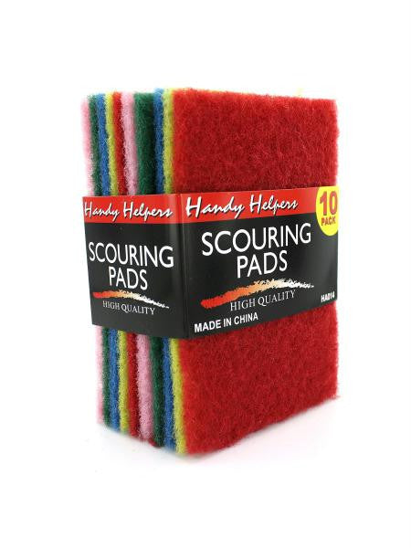 Multi-Colored Scouring Pads (Available in a pack of 20)