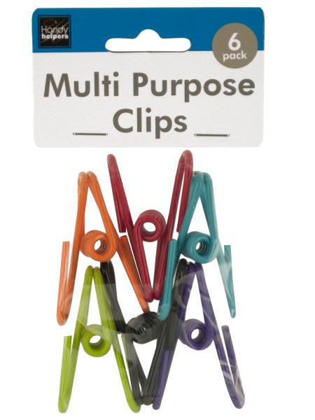 Vinyl Coated Multi-Purpose Clips (Available in a pack of 24)