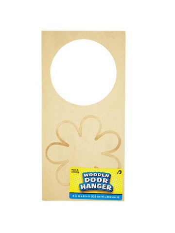 Craft Wooden Door Hanger (Available in a pack of 24)