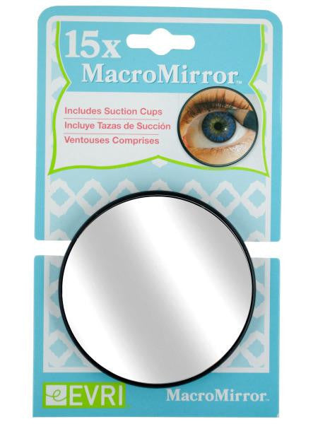 15X MacroMirror with Suction Cups (Available in a pack of 24)