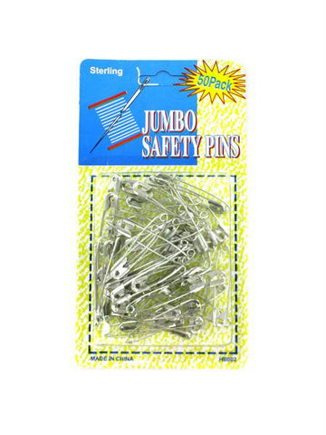 Jumbo Safety Pins (Available in a pack of 24)