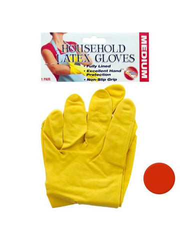 Household Latex Gloves (Available in a pack of 24)