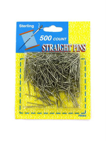 Straight Pins Value Pack (Available in a pack of 24)