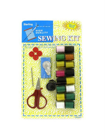 All-In-One Sewing Kit (Available in a pack of 24)