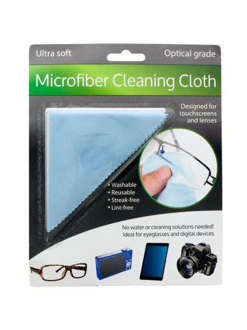 Optical Grade Microfiber Cleaning Cloth (Available in a pack of 24)