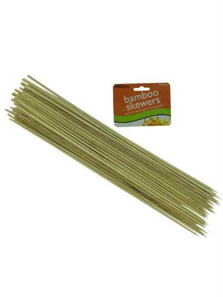 Long Bamboo Skewers (Available in a pack of 12)