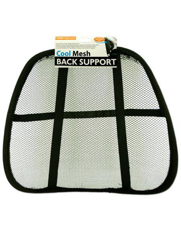 Mesh Back Support Rest (Available in a pack of 10)