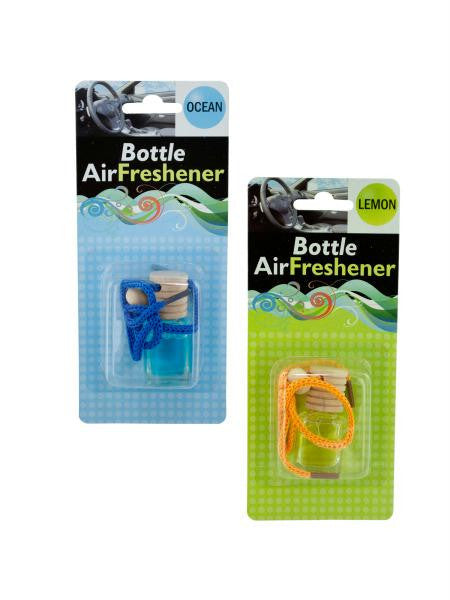 Glass Bottle Air Freshener (Available in a pack of 12)