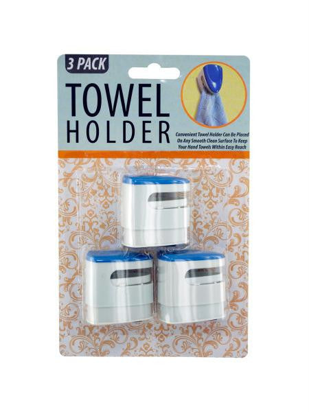 Towel Holder Set (Available in a pack of 12)