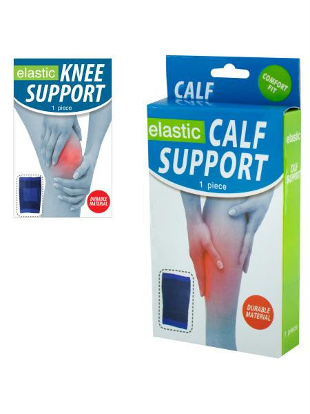 Elastic Calf & Knee Support Brace (Available in a pack of 12)