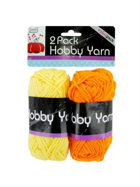 Hobby Yarn Bright Colors Set (Available in a pack of 24)