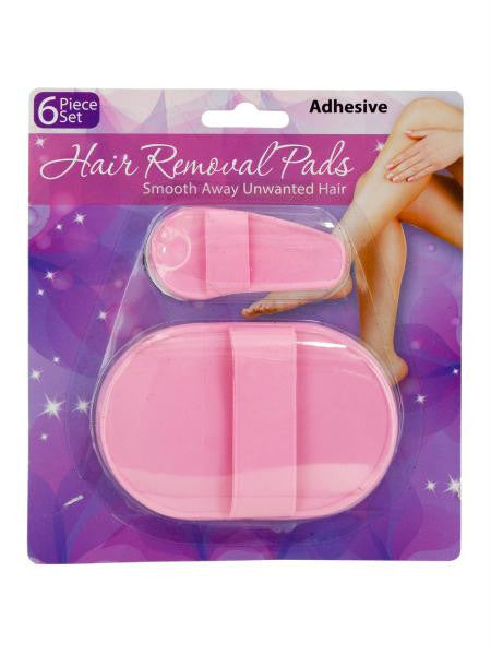 Hair Removal Pad Set (Available in a pack of 18)