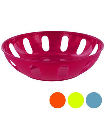 Round Plastic Basket (Available in a pack of 12)
