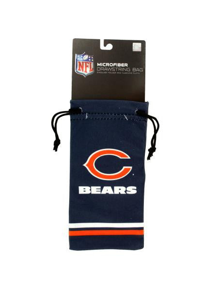Chicago Bears Microfiber Eyeglass Bag (Available in a pack of 24)
