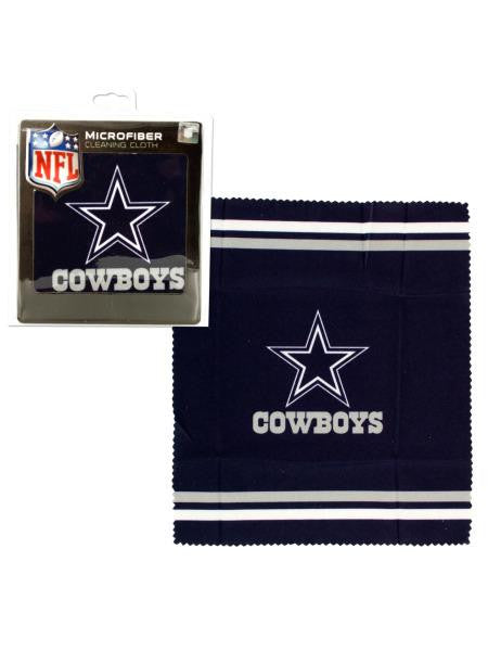Dallas Cowboys Microfiber Eyeglass Cleaning Cloth (Available in a pack of 24)
