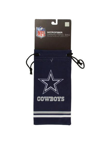 Dallas Cowboys Microfiber Eyeglass Bag (Available in a pack of 24)