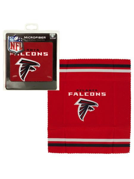 Atlanta Falcons Microfiber Eyeglass Cleaning Cloth (Available in a pack of 24)