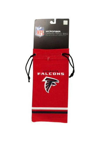 Atlanta Falcons Microfiber Eyeglass Bag (Available in a pack of 24)