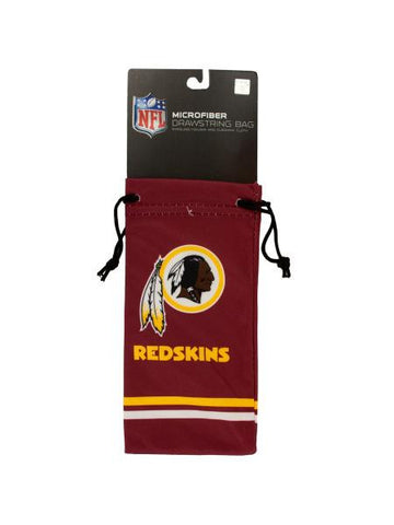 Washington Redskins Microfiber Eyeglass Bag (Available in a pack of 24)