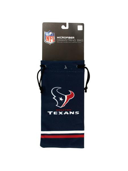 Houston Texans Microfiber Eyeglass Bag (Available in a pack of 24)
