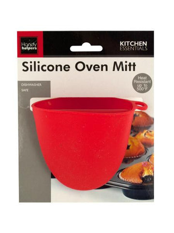 Silicone Oven Mitt (Available in a pack of 24)