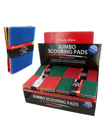 Jumbo Scouring Pads Countertop Display (Available in a pack of 25)