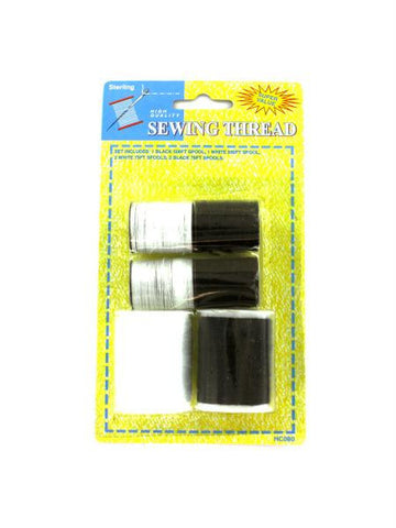 Black and White Thread Set (Available in a pack of 12)