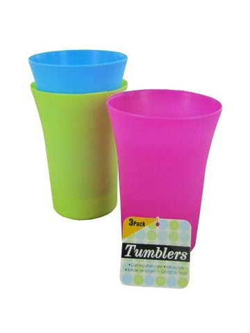 Colorful Tumblers Set (Available in a pack of 24)