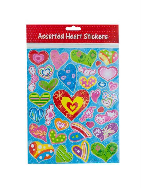 Heart Stickers (Available in a pack of 24)