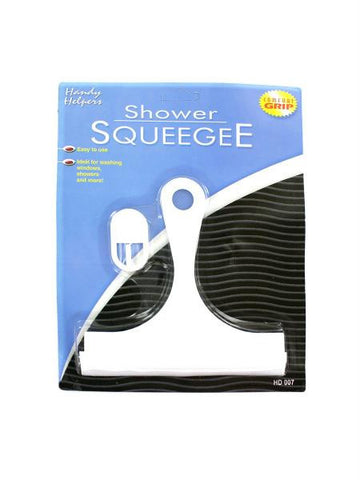 Shower Squeegee with Hanging Hook (Available in a pack of 24)
