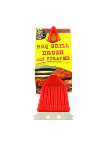 BBQ Grill Brush & Scraper (Available in a pack of 24)