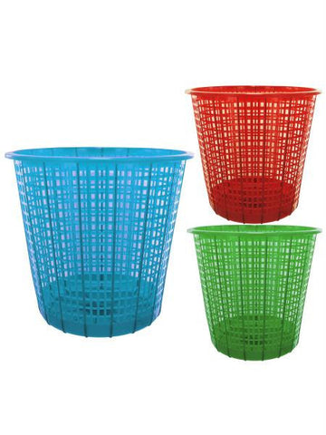 Plastic Mesh Trash Can (Available in a pack of 18)