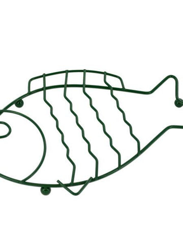 Green Wire Fish Trivet (Available in a pack of 24)