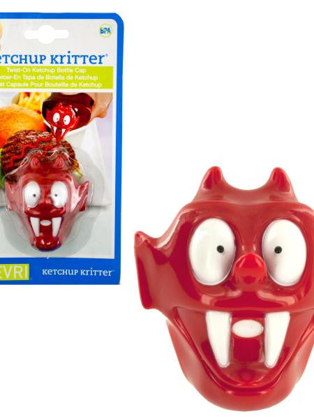 Ketchup Kritter Twist-On Bottle Cap (Available in a pack of 24)