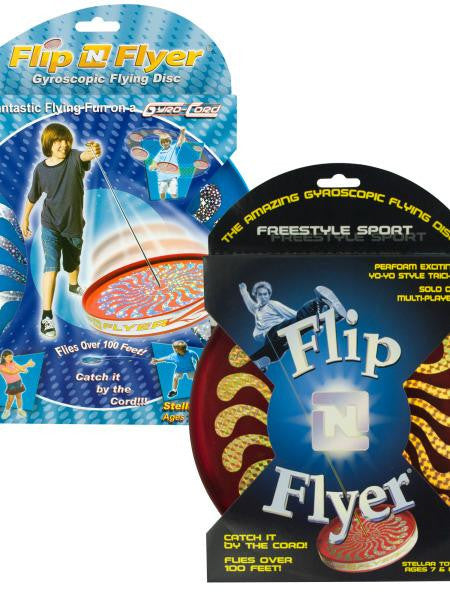 Flip N Flyer Gyroscopic Flying Disc (Available in a pack of 12)